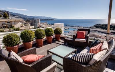 Magnifique penthouse - 6 pièces en duplex
