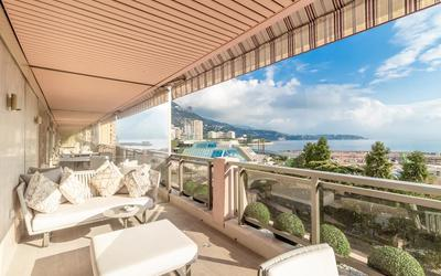 Luxurious refurbished apartment avenue Princesse Grace