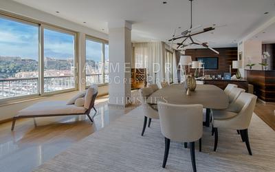 Contemporary splendor above Monaco Harbour