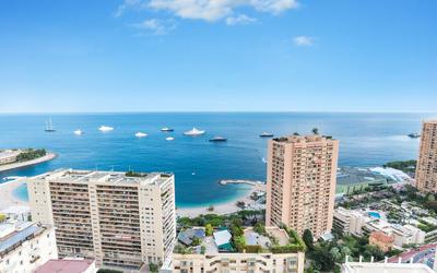 Davanti alle Spiagge di Monte-Carlo