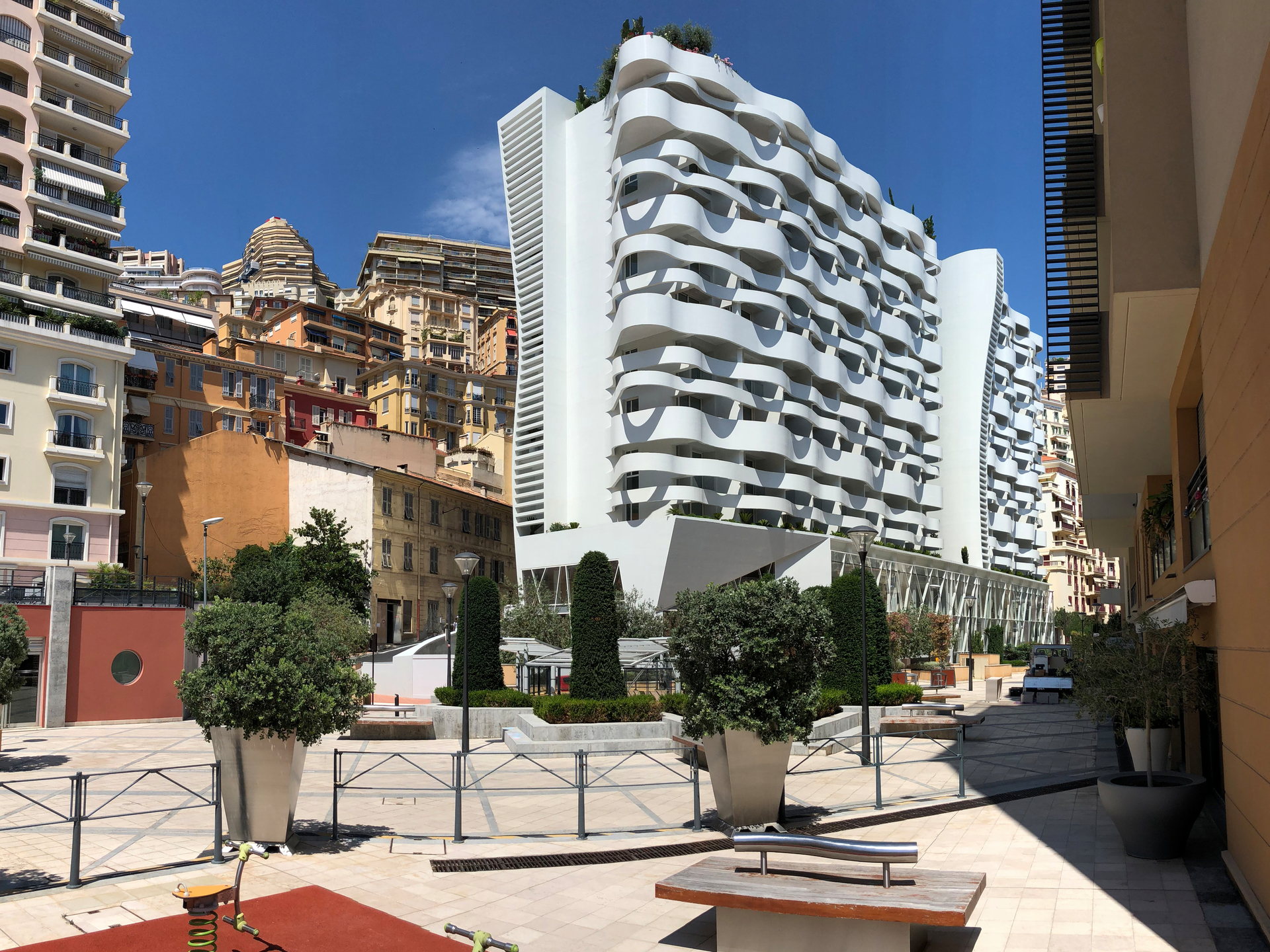 "2-3 rooms in the new building ""Le Stella"", Monaco - Offices for sale in Monaco"