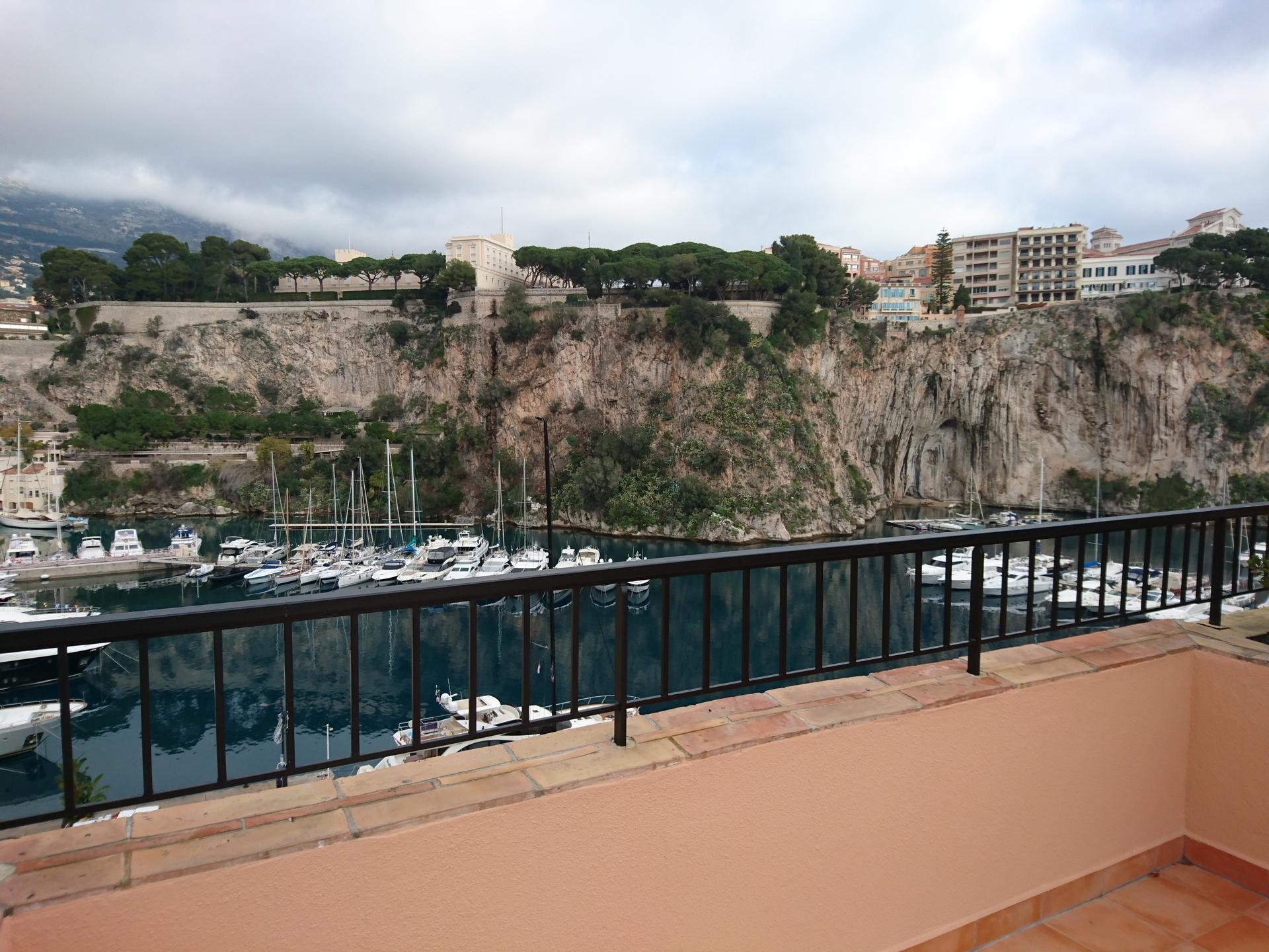 Affitti appartamento con terrazza sul tetto vista stupenda monaco monte carlo - Terrazza sul tetto ...