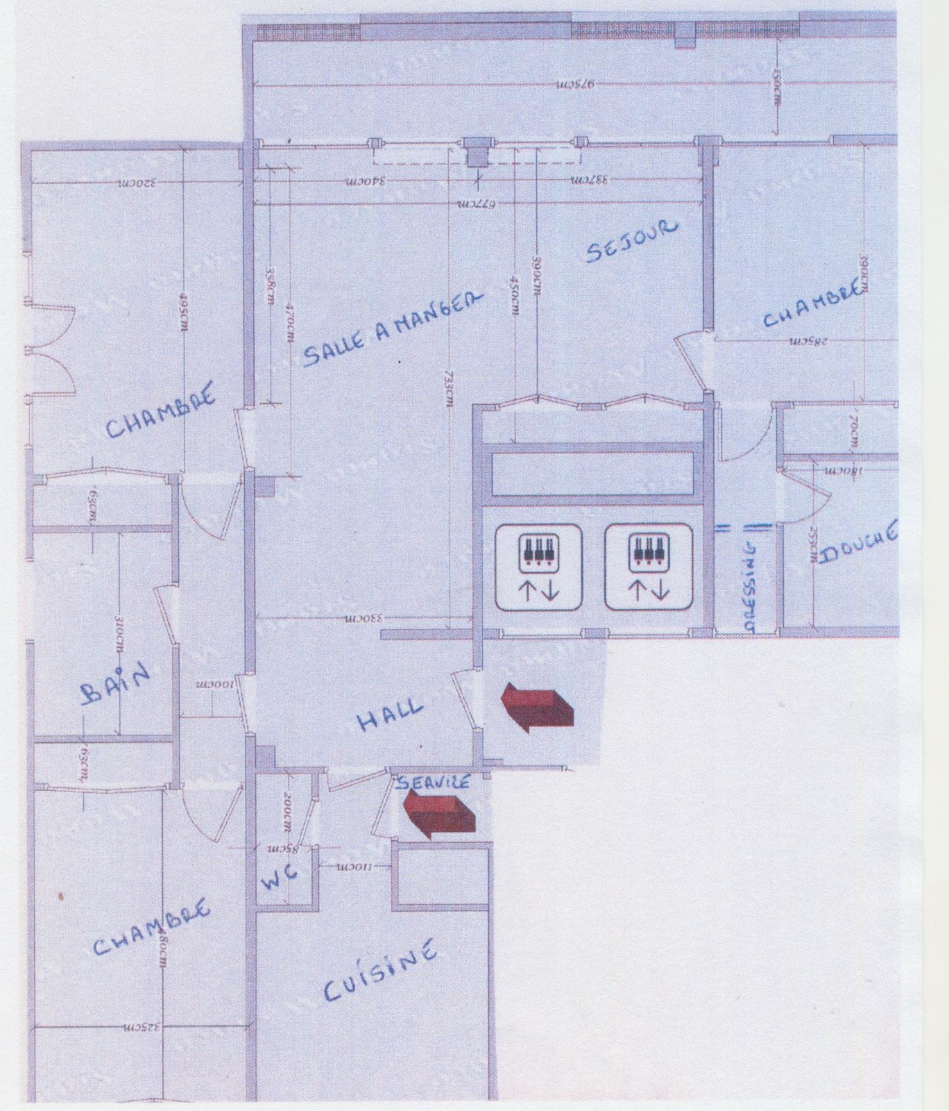Location appartement enti rement refait neuf monaco for 162 plan