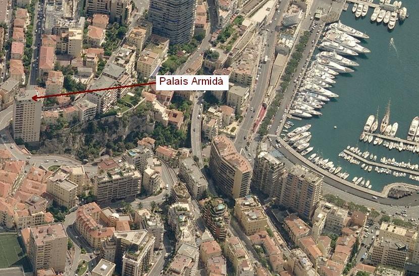 Magnifique 3 pièces entièrement rénové au Palais Armida - Bureaux à vendre à Monaco