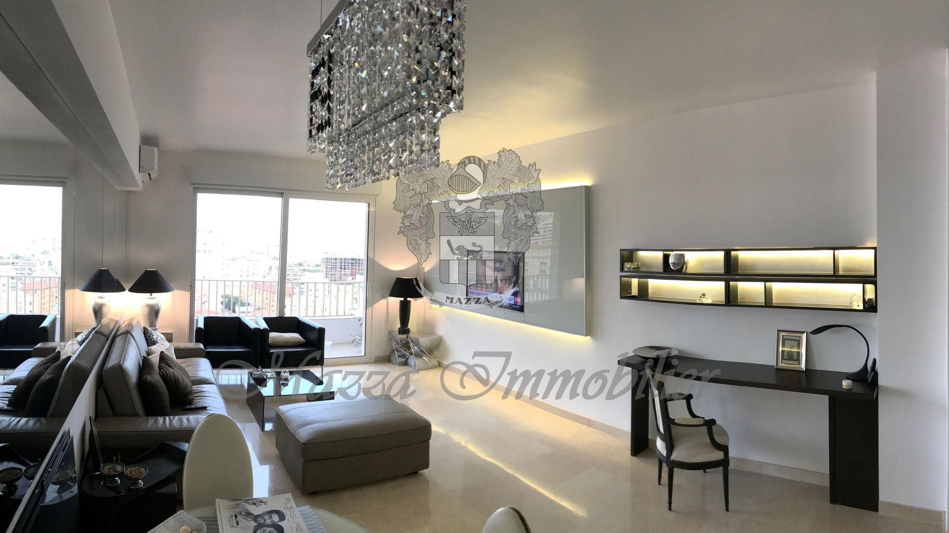 NEW! Jardin Exotique, 4 rooms, sea view, furnished - Offices for sale in Monaco