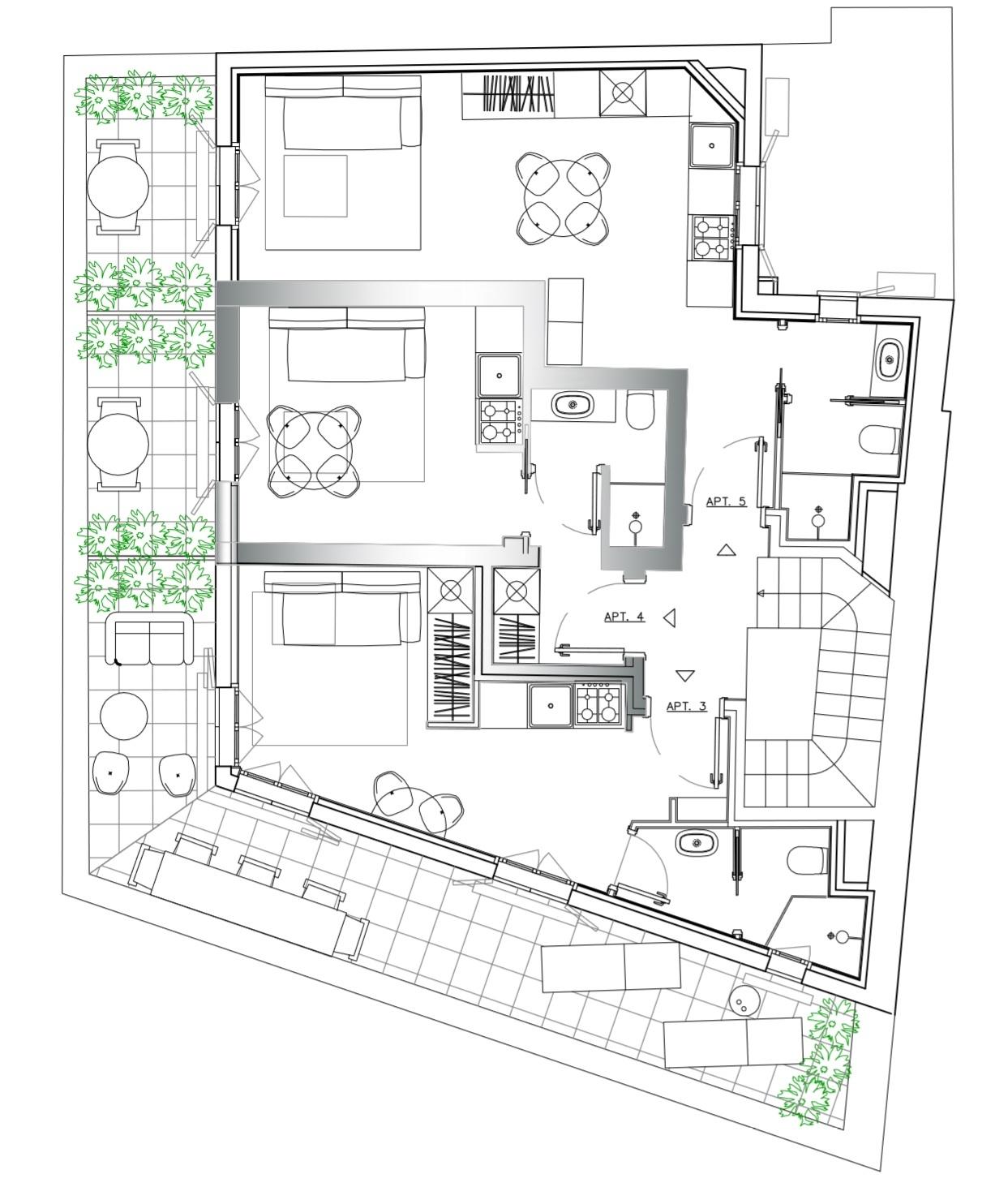 Charmant petit penthouse! Livré neuf en 2019 - Offices for sale in Monaco