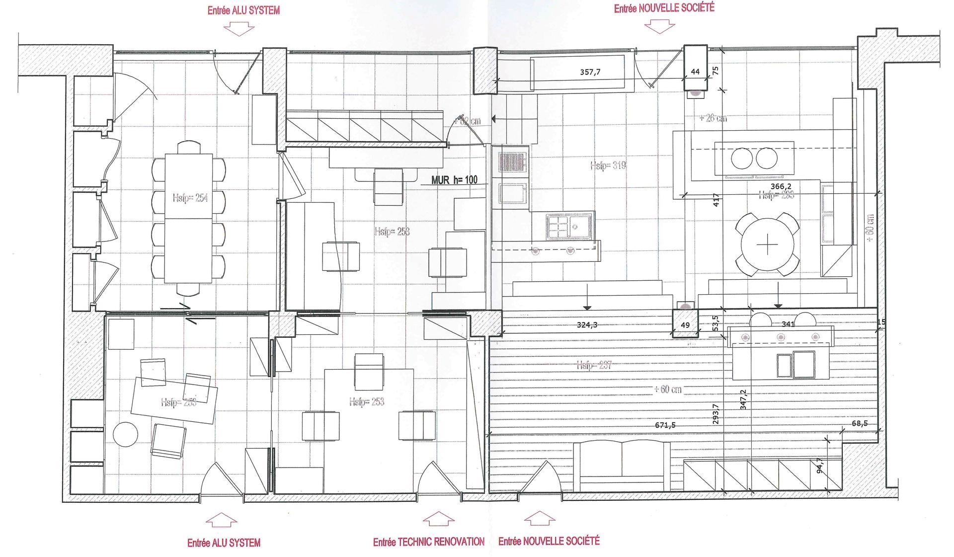 CARRE D'OR locale commerciale 130 m ² - 3 grandi finestre - Uffici in vendita a MonteCarlo
