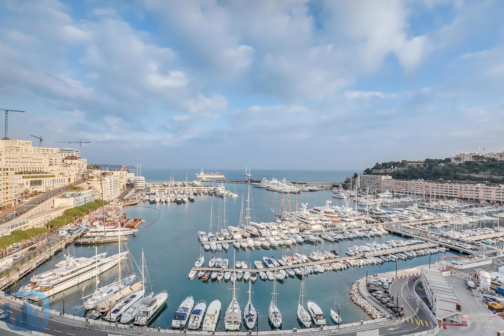 STUNNING 3/4 ROOM - HIGH FLOOR - PORT HERCULE - Offices for sale in Monaco