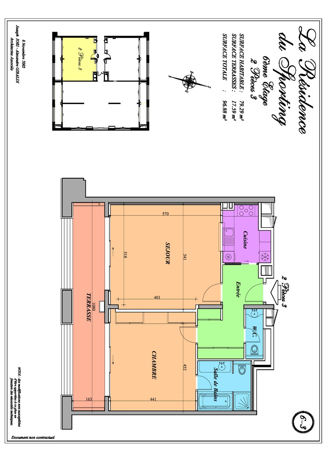 Location r sidence hoteli re 2 pi ces monaco monte carlo for Location residence hoteliere
