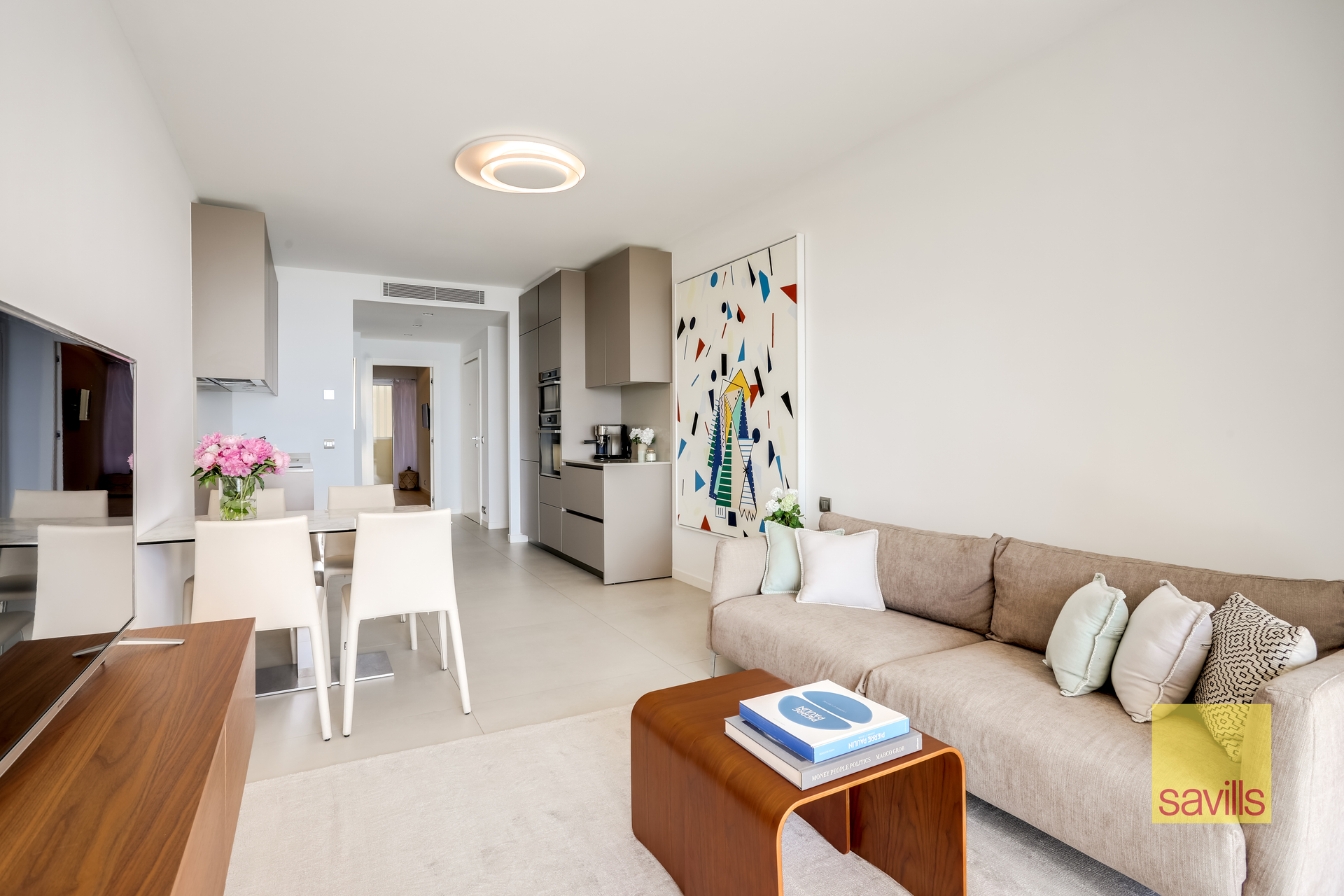Beautiful two bedroom apartment entirely renovated and furnished with sea views - Offices for sale in Monaco