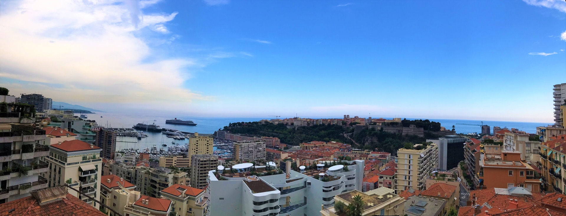 2 ROOMS MAGNIFICENT VIEW HERCULE HARBOUR MIXED USE WITH PARKING - Offices for sale in Monaco