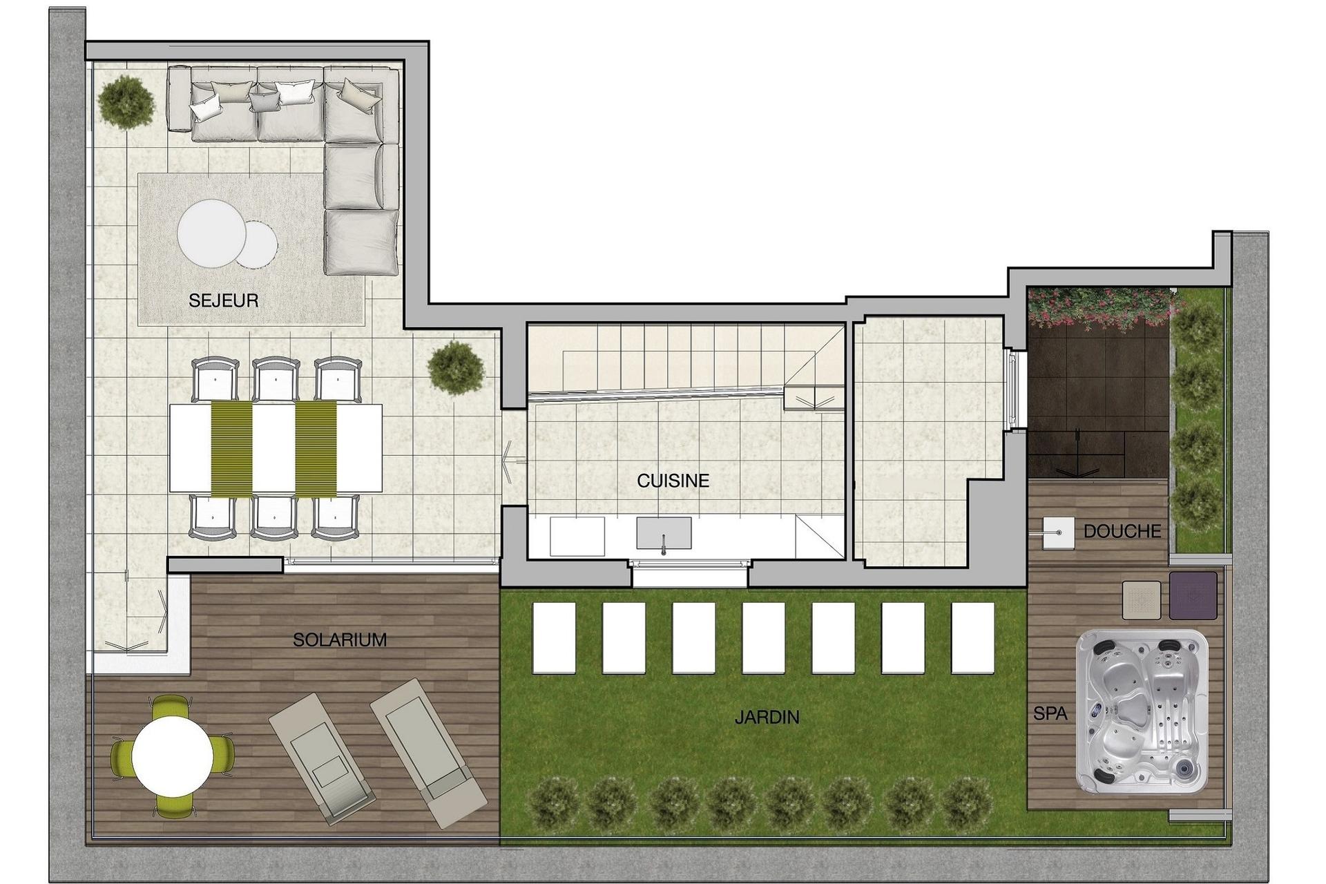vente penthouse port hercule grand prix formule 1. Black Bedroom Furniture Sets. Home Design Ideas