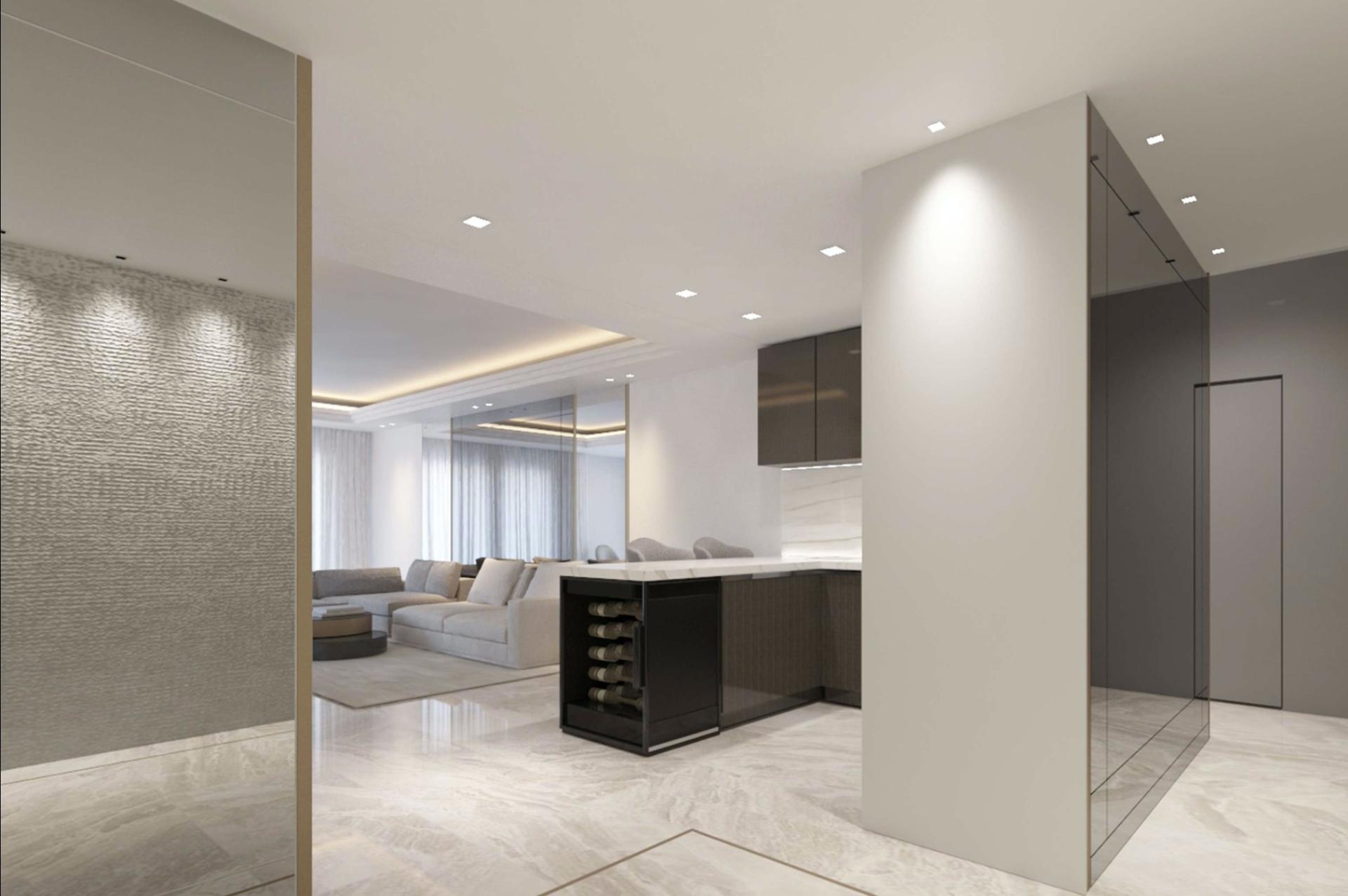 Monte Marina 3 bedroom renovation project - Offices for sale in Monaco