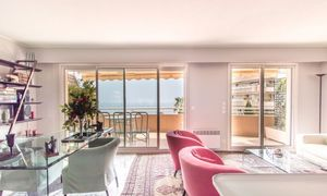 Beausoleil - 2 bedroom apartment on the last floor sea view