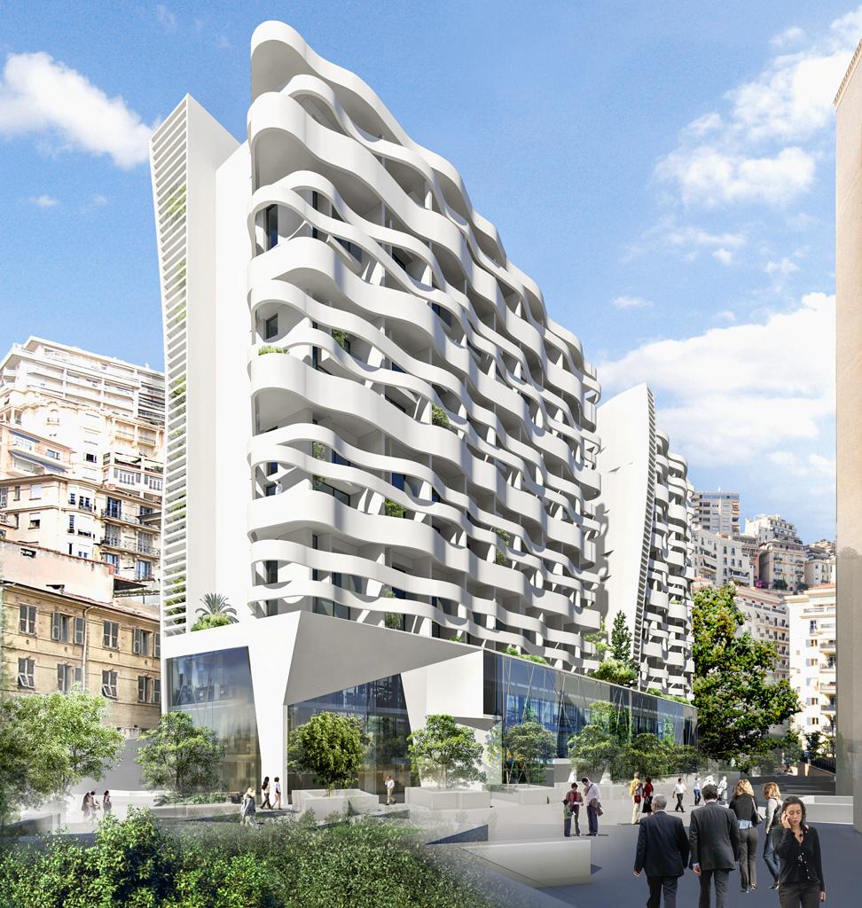 Verk ufe new building building delivery in august 2018 for Architecte monaco